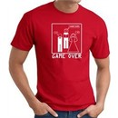 Game Over Marriage Ceremony T-shirt Funny Red Tee
