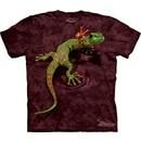 Gecko Shirt Funny Lizard Peace Out T-shirt Tie Dye Adult Tee