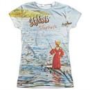 Genesis Shirt Foxtrot Cover Sublimation Juniors T-Shirt Front/Back Print
