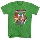 Ghost'N Goblins Shirt Poster Heather Green T-Shirt