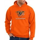 US Navy Seal Hoodie Hooded Sweatshirt ? Devgru Adult Orange Hoody