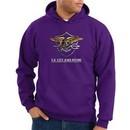 US Navy Seal Hoodie Hooded Sweatshirt ? Devgru Adult Purple Hoody