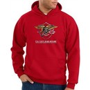 US Navy Seal Hoodie Hooded Sweatshirt ? Devgru Adult Red Hoody