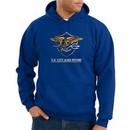 US Navy Seal Hoodie Hooded Sweatshirt ? Devgru Adult Royal Blue Hoody