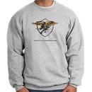 U.S. Navy Seal Sweatshirt Devgru Sweatshirt Athletic Heather