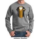 Gold Vest Tuxedo Sweatshirt