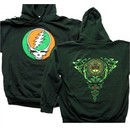 Grateful Dead Hoodie Celtic Knot Hooded Sweatshirt Green Hoody