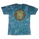Grateful Dead T-shirt Mandala Turquoise Tie Dye Tee