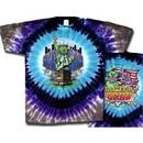 Grateful Dead T-shirt NY Coast to Coast Tie Dye Tee