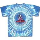 Grateful Dead Shirt Rythym Drums Tie Dye Tee T-Shirt
