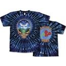 Grateful Dead T-shirt Tie Dye Owl Tee Shirt