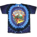 Grateful Dead Shirt Walking Coast to Coast Adult Tee T-Shirt