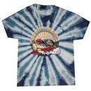 Grateful Dead Kids T-shirt Tie Dye GD Train Youth Tee Shirt