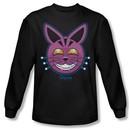 Grimm Shirt Retchid Kat Long Sleeve Black Tee T-Shirt