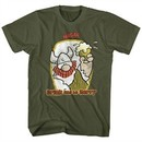 Hagar The Horrible Shirt Drink And Be Merry Olive T-Shirt