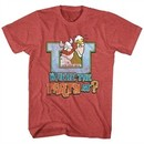 Hagar The Horrible Shirt Where The Party At? Red Heather T-Shirt