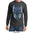 Halloween Glass Skull Long Sleeve Shirt