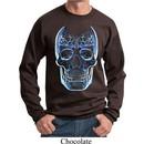Halloween Glass Skull Sweatshirt