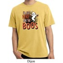 Halloween Tee I'm Here for the Boos Pigment Dyed Shirt