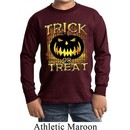Halloween Trick or Treat Kids Long Sleeve Shirt