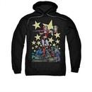Harley Quinn Hoodie Hammer Time Black Sweatshirt Hoody