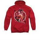 Harley Quinn Hoodie Q Red Sweatshirt Hoody