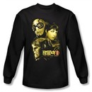 Hellboy II The Golden Army T-shirt Ungodly Creature Black Long Sleeve