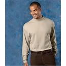 Ultra Club Mock Turtleneck Shirt Egyptian Long Sleeve Tee Shirt