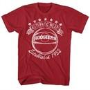 Hoosiers Shirt Authentic Wear Cardinal Red T-Shirt