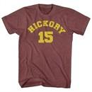 Hoosiers Shirt Hickory 15 Heather Maroon T-Shirt