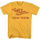 Hoosiers Shirt Indiana State Championship 1952 Yellow T-Shirt