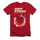Hot Stuff Shirt Slim Fit On The Sun Red T-Shirt