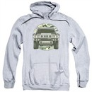 Hummer Hoodie Lead Or Follow Athletic Heather Sweatshirt Hoody