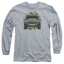 Hummer Long Sleeve Shirt Lead Or Follow Athletic Heather Tee T-Shirt