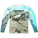 Hummer Long Sleeve Trek Sublimation Shirt Front/Back Print