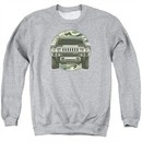 Hummer Sweatshirt Lead Or Follow Adult Athletic Heather Sweat Shirt