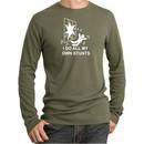 Stunts Crashing and Falling Thermal Army Green Shirt