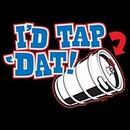 I'd Tap 'Dat Drinking Beer Keg Funny T-shirt