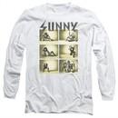 It's Always Sunny In Philadelphia Long Sleeve Shirt Rock Photos White Tee T-Shirt