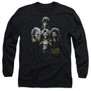 It's Always Sunny In Philadelphia Long Sleeve Shirt Rocker Heads Black Tee T-Shirt