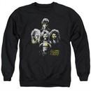 It's Always Sunny In Philadelphia Sweatshirt Rocker Heads Adult Black Sweat Shirt