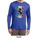 Italian Stallion Mens Dry Wicking Long Sleeve Shirt