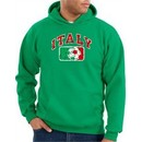 Italian Hoodie Italia Soccer Futbol Kelly Green Hoody