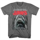 Jaws Shirt Beware Athletic Heather T-Shirt
