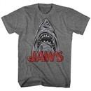Jaws Shirt Schetchy Shark Athletic Heather T-Shirt