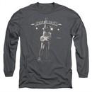Jeff Beck Long Sleeve Shirt Guitar God Charcoal Tee T-Shirt