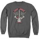 Jeff Beck Sweatshirt Beckabilly Guitar Adult Charcoal Sweat Shirt