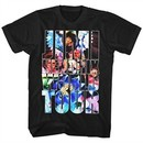 Jimi Hendrix Shirt World Tour Black T-Shirt