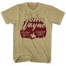 John Wayne Shirt The Big Trail 1930 Sand Heather T-Shirt