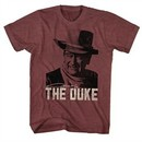 John Wayne Shirt The Duke Maroon T-Shirt